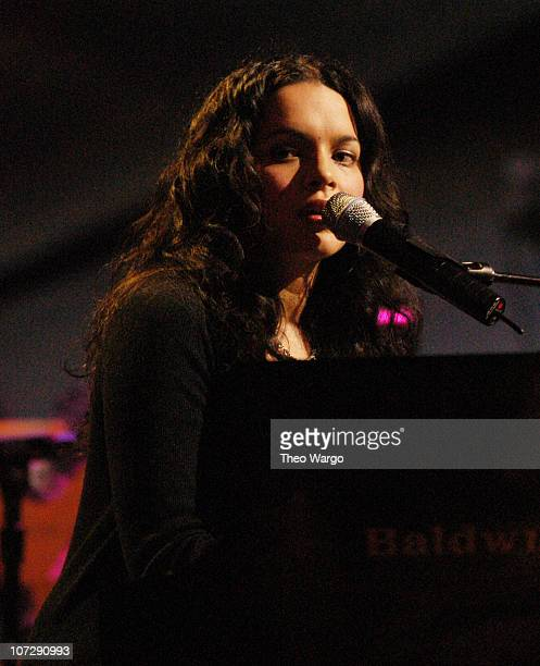 Norah Jones during Willie Nelson and Friends Live and Kickin' Premieres on USA Network May 26 2003 Show at Beacon Theatre in New York City New York...