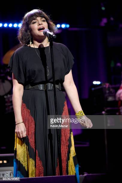 Norah Jones performs onstage at the Second Annual LOVE ROCKS NYC A Benefit Concert for God's Love We Deliver at Beacon Theatre on March 15 2018 in...