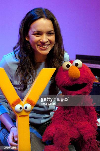 Norah Jones stopped by Sesame Street to sing about the letter Y This segment will air as part of Sesame Street's 35th Season beginning on April 5 2004