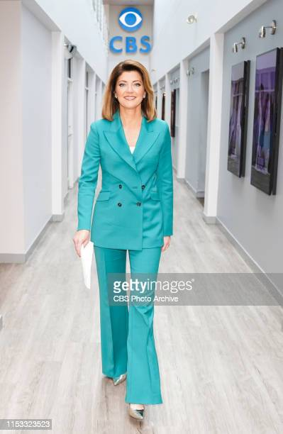 Norah O'Donnell Anchor and Managing Editor of CBS EVENING NEWS visits WBZ Boston