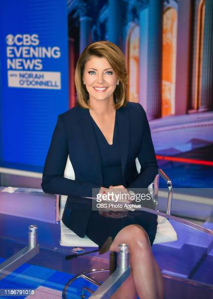 Norah O'Donnell Anchor and Managing Editor of CBS EVENING NEWS WITH NORAH O'DONNELL