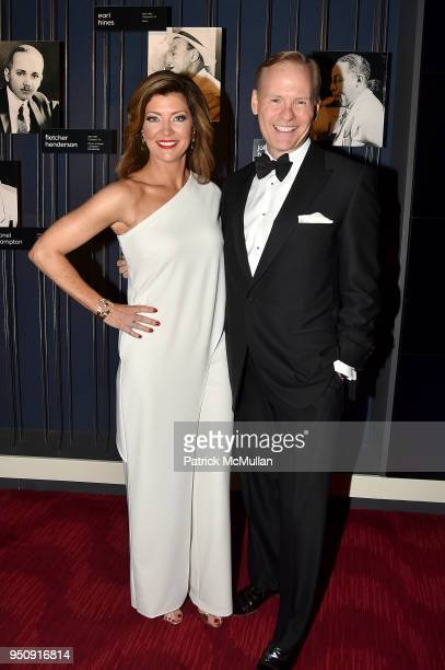 Norah O'Donnell and John Dickerson attend the 2018 TIME 100 Gala at Jazz at Lincoln Center on April 24 2018 in New York City