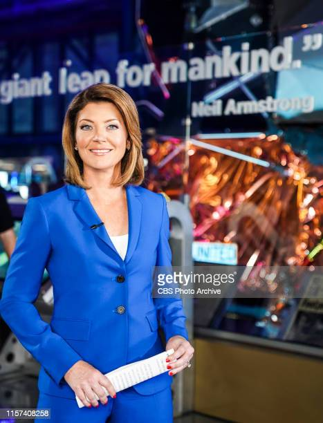 Norah O'Donnell at the Kennedy Space Center