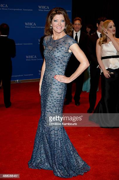 Norah O'Donnell attends the 100th Annual White House Correspondents' Association Dinner at the Washington Hilton on May 3 2014 in Washington DC