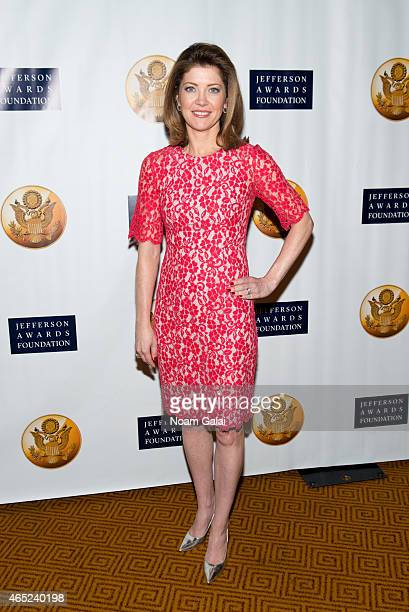 Norah O'Donnell attends the 2015 Jefferson Awards Foundation New York Ceremony at Gotham Hall on March 4 2015 in New York City