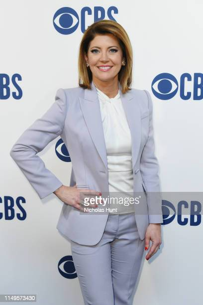 Norah O'Donnell attends the 2019 CBS Upfront at The Plaza on May 15 2019 in New York City