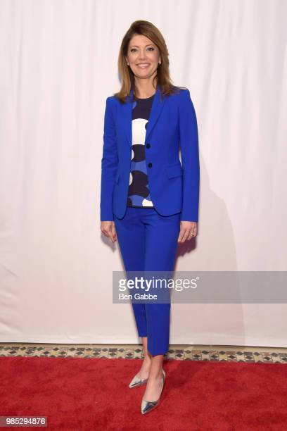 Norah O'Donnell attends The Gracies presented by the Alliance for Women in Media Foundation at Cipriani 42nd Street on June 27 2018 in New York City