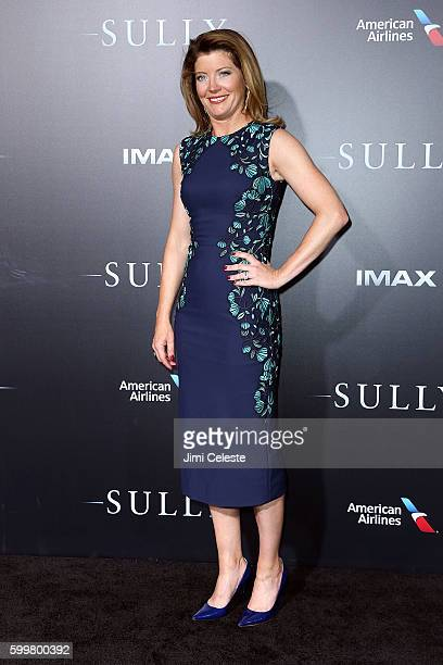 """Norah O'Donnell attends The New York Premiere of Warner Bros. Pictures' and Village Roadshow Pictures' """"Sully"""" at Alice Tully Hall at Lincoln Center..."""
