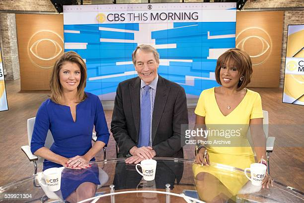 Norah O'Donnell Charlie Rose and Gayle King