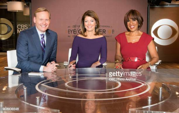 Norah O'Donnell Gayle King and John Dickerson