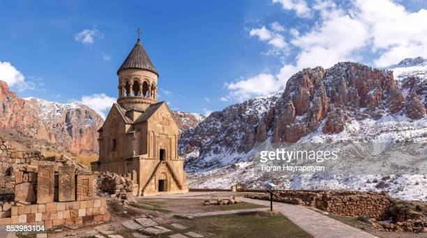 noravank monastery, yeghegnadzor, armenia - armenia stock pictures, royalty-free photos & images