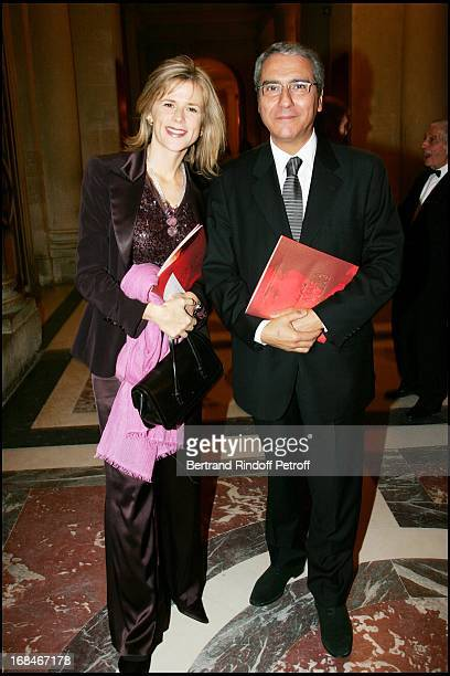 Norbert Balit and Laurence Piquet Gala dinner organized by Pasteur Weizmann at Versailles to honour Maria Callas