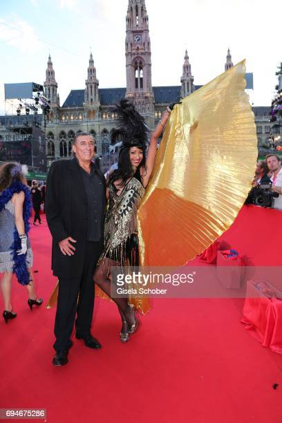 Norbert Blecha and Monika Zecher during the Life Ball 2017 at City Hall on June 10 2017 in Vienna Austria