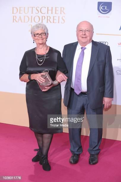 Norbert Bluem and his wife Marita Bluem attends the Deutscher Radiopreis at Schuppen 52 on September 6 2018 in Hamburg Germany