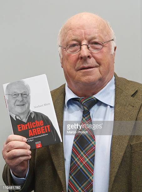 Norbert Bluem presents his book at the 2011 Leipzig Book Fair at the fair grounds on March 19 2011 in Leipzig Germany From March 17 to 20 2150...