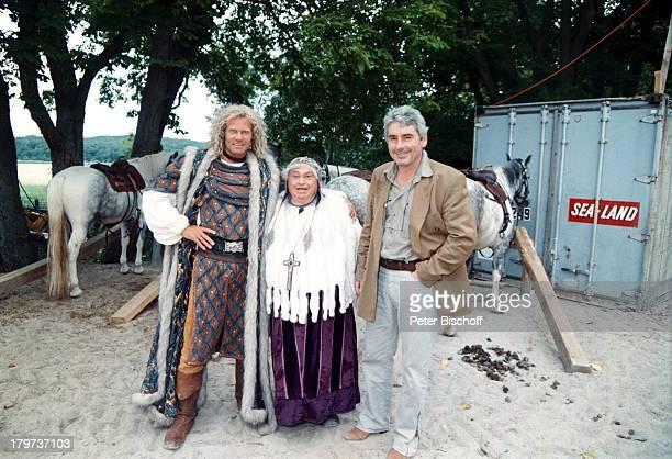 Norbert Braun mit Mircea Krishan und PeterHick 'Störtebeker Festspiele'Rügen 1997