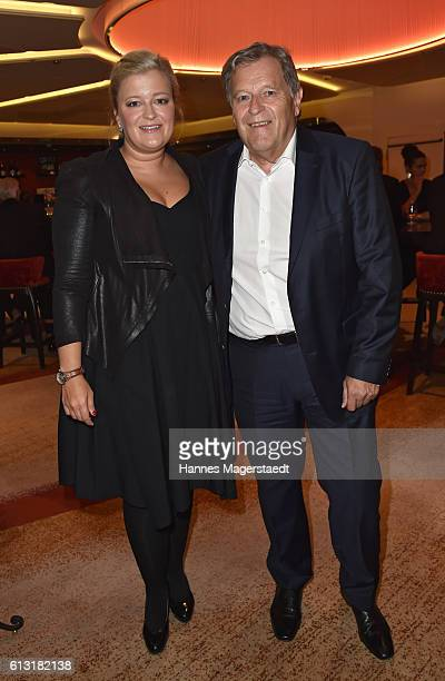 Norbert Haug and his daughter Isabel Haug during the Felix Friends Charity Gala at Hotel Vier Jahreszeiten on October 7 2016 in Munich Germany
