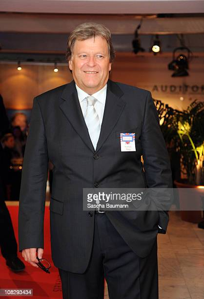 Norbert Haug attends the German Media Award on January 24 2011 in BadenBaden Germany