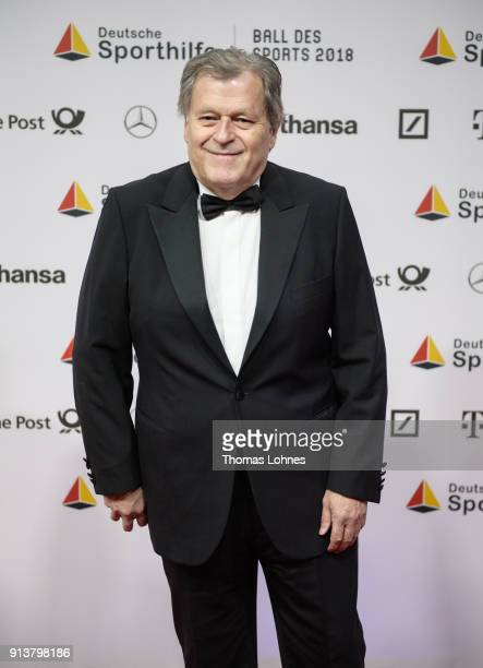 Norbert Haug attends the German Sports Gala 2018 'Ball Des Sports' on February 3 2018 in Wiesbaden Germany