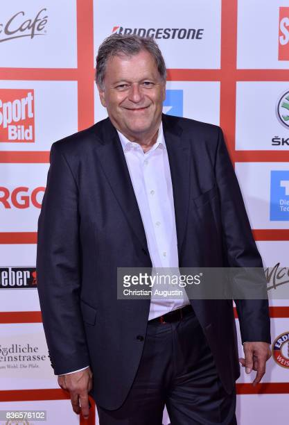 Norbert Haug attends the Sport Bild Award at the Fischauktionshalle on August 21 2017 in Hamburg Germany
