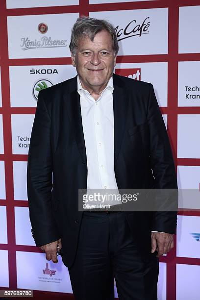 Norbert Haug poses for a picture at the Sport Bild Award 2016 at Fischauktionshalle on August 29 2016 in Hamburg Germany
