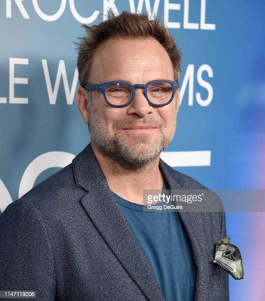 Norbert Leo Butz arrives at the FYC Event For FX's Fosse/Verdon at Samuel Goldwyn Theater on May 30 2019 in Beverly Hills California