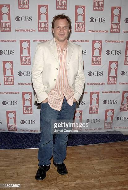 Norbert Leo Butz during 59th Annual Tony Awards 'Meet The Nominees' Press Reception at The View at The Marriot Marquis in New York City New York...