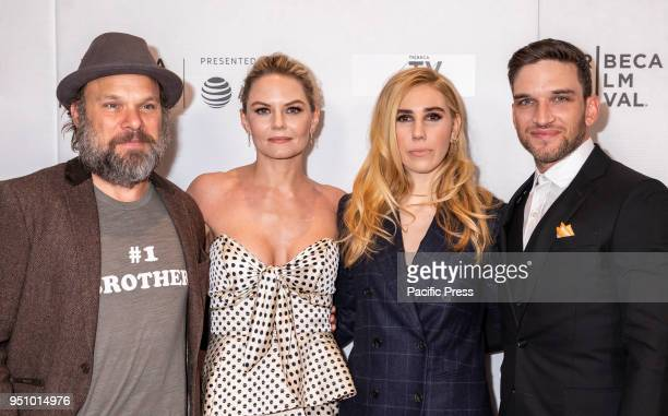 Norbert Leo Butz Jennifer Morrison Zosia Mamet and Evan Jonigkeit attend the screening of 'Fabled'' at Tribeca TV Indie Pilots during the 2018...