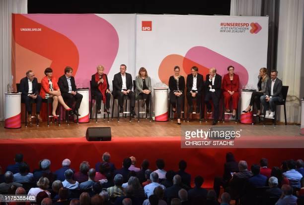 Norbert Walter-Borjans, Saskia Esken, Ralf Stegner, Gesine Schwan, Boris Pistorius, Petra Koepping, Nina Scheer, Karl Lauterbach, Olaf Scholz, Klara...