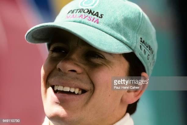 Norberto Fontana SauberPetronas C16 Grand Prix of France Circuit de Nevers MagnyCours 29 June 1997