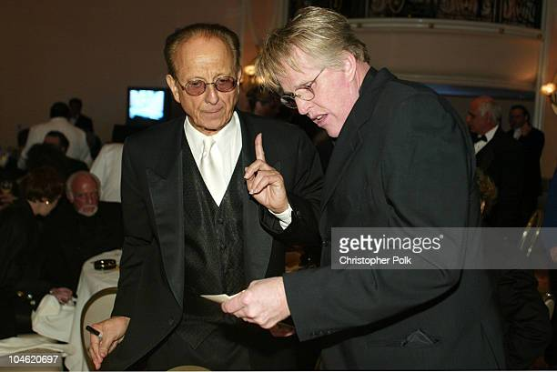 Norby Walters and Gary Busey during The 12th Annual Night of 100 Stars Oscar Gala at Beverly Hills Hotel in Beverly Hills California United States