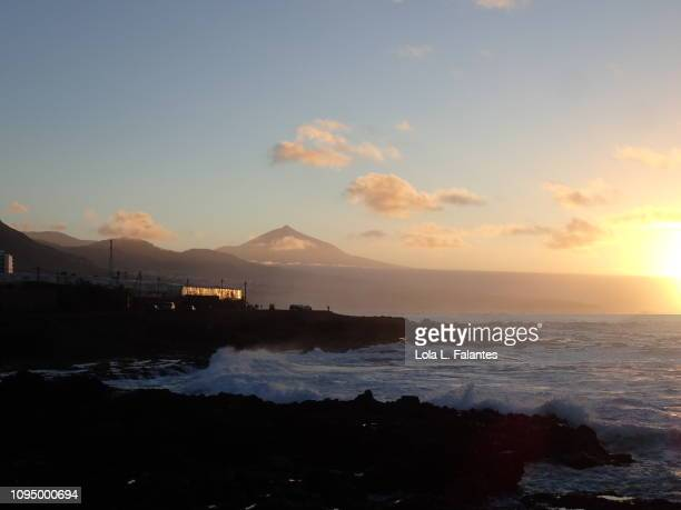 Nord coast of Tenerife seascape