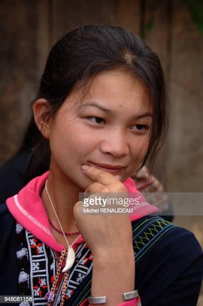 Nord Vietnam le village de Ta Phin dans les environs de Sapa est essentiellement habité par les Dao Rouges Nord Vietnam le village de Ta Phin dans...
