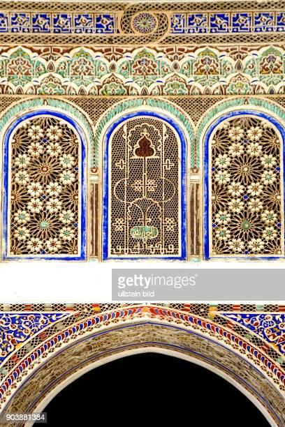 Nordafrika MAR Marokko Marrakesch August 2010 Das Volkskundemuseum Musée Dar Si Said beherbergt eine umfangreiche Sammlung marokkanischen...