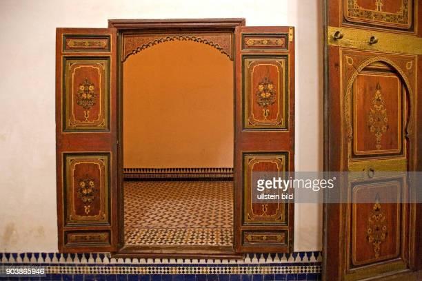 Nordafrika MAR Marokko Marrakesch August 2010 Der Palais de la Bahia die ehemalige Residenz der Grosswesire Si Moussa und Ba Ahmed ist ein schoenes...