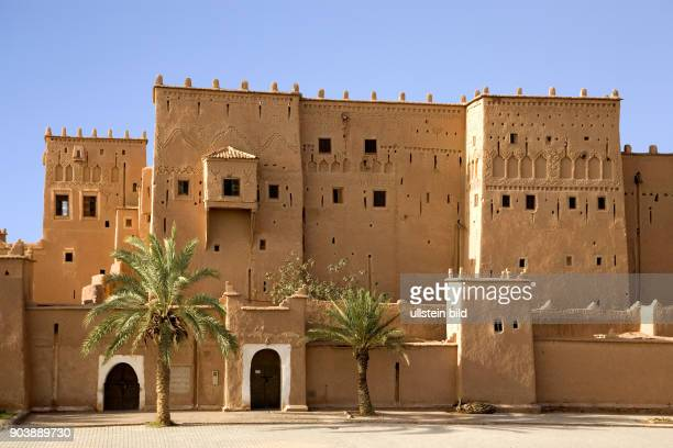 Nordafrika, MAR, Marokko, Ouarzazate, Bedeutendste Sehenswuerdigkeit ist die Kasbah von Taourirt, die Anfang des 18. Jh. Errichtet und bis in die...
