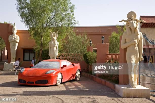 Nordafrika, MAR, Marokko, Quarzazate. Ouarzazate hat sich in den letzten Jahren zum regionalen Zentrum der Filmindustrie in Marokko entwickelt.Hier...