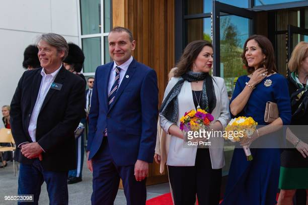 Nordic Museum Executive Director Eric Nelson President of Iceland Gudni Th Johannesson Iceland First Lady Eliza Reid and Her Royal Highness the Crown...