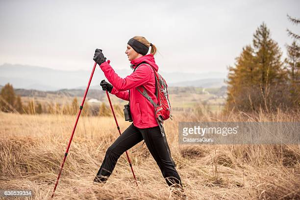 Nordic Walking in Autumn