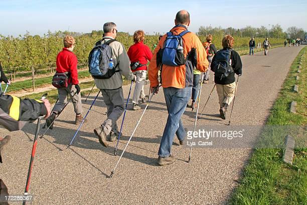 Caminata nórdica # 9