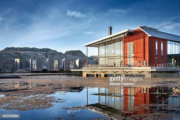nordic watercolor museum skarhamn sweden - michael robinson stock pictures, royalty-free photos & images