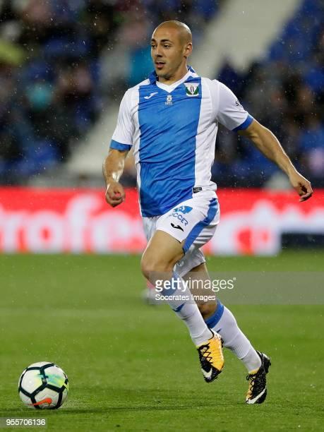 Nordin Amrabat of Leganes during the La Liga Santander match between Leganes v Levante at the Estadio Municipal de Butarque on May 7 2018 in Madrid...