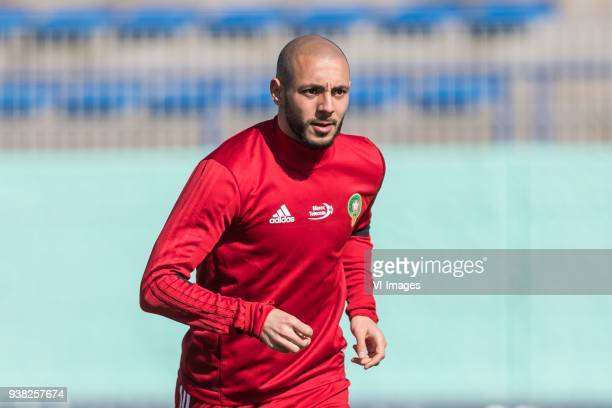 Nordin Amrabat of Morocco during a training session prior to the International friendly match between Morocco and Oezbekistan in Cassablanca on March...