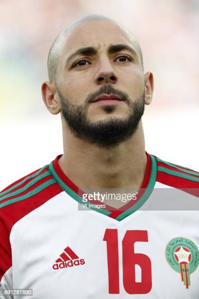 Nordin Amrabat of Moroccoduring the friendly match between Morocco and The Netherlands at Grand Stade Adrar on May 31 2017 in Agadir Morocco