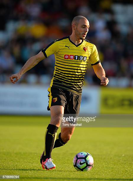 Nordin Amrabat of Watford during the PreSeason Friendly match between Stevenage and Watford at The Lamex Stadium on July 14 2016 in Stevenage England