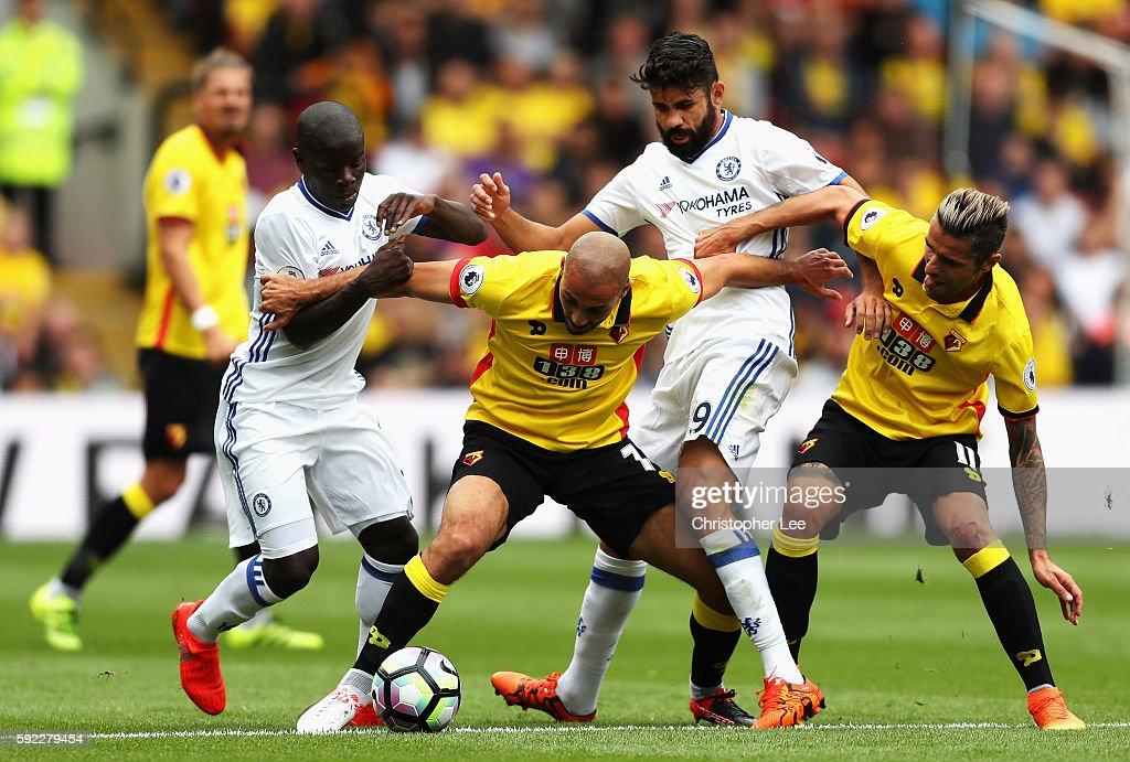 Watford v Chelsea - Premier League : Nachrichtenfoto