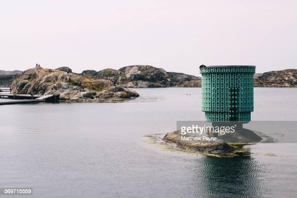 nordiska akvarellmuseet - västra götalands län stockfoto's en -beelden