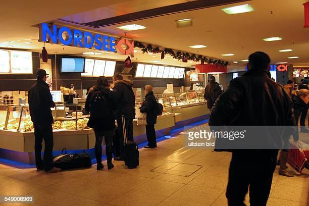 Nordsee Filiale Schnellrestaurant im Hauptbahnhof in Hannover
