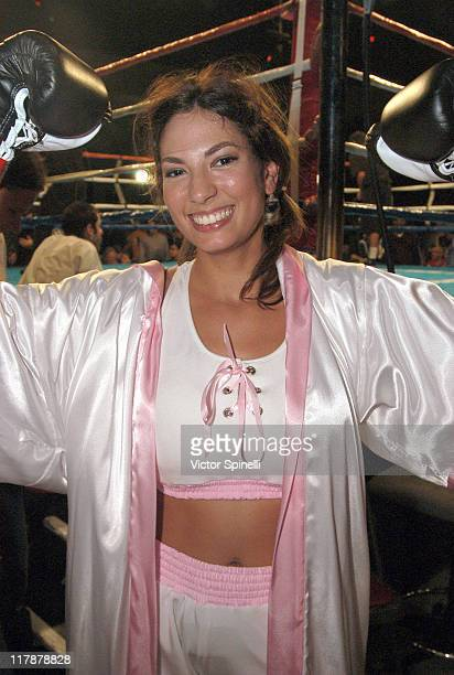 Noreen during Perfect 10 Magazine Model Boxing at The Grand Olympic Auditorium in Los Angeles California United States