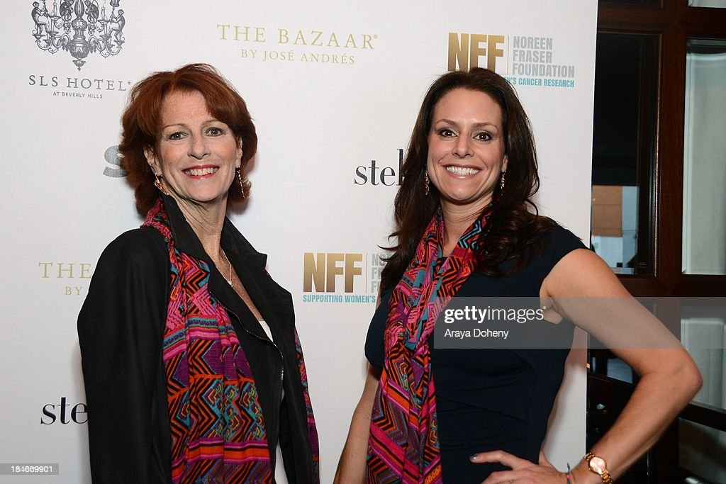 Noreen Fraser and Michelle McBride attend the Stella & Dot Trunk Show Benefiting The Noreen Fraser Foundation at The Bazaar at the SLS Hotel Beverly Hills on October 14, 2013 in Los Angeles, California.